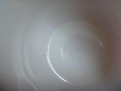 画像2: ヘーゼルアトラス・ミルクガラスマグ・Cハンドル・ホワイト