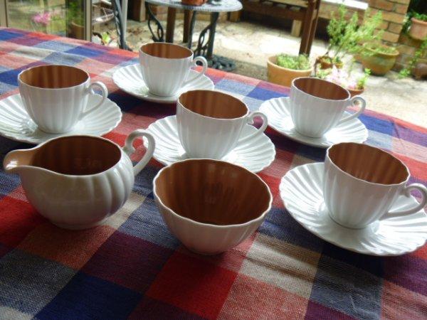 画像1: スージークーパー・FLITE・オレンジブラウン・コーヒーセット (1)